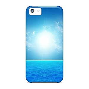 New Arrival Premium 5c Cases Covers For Iphone (a Blue Day At Sea)