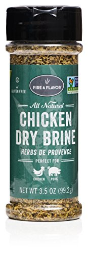 Fire & Flavor Chicken Dry Brine (Herb de Provence, Pack of 1)