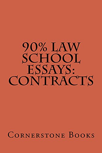 Amazoncom  Contract Law Essay Writing Normalized Reading   Contract Law Essay Writing Normalized Reading Allowed By Books  Cornerstone Thesis Statement Examples For Persuasive Essays also Psychology As A Science Essay  Essay On Library In English