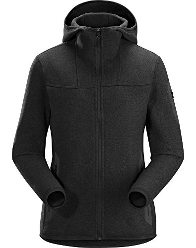 Arc'teryx Covert Hoody Women's (Black Heather, Small, Past Season) Arcteryx Covert Hoody Jacket