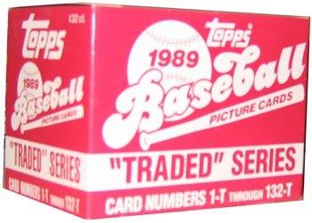 1989 Topps Traded Series Baseball Set - 132C