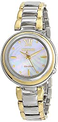 Citizen Eco-Drive Women's EM0337-56D Citizen L Sunrise Analog Display Two Tone Watch