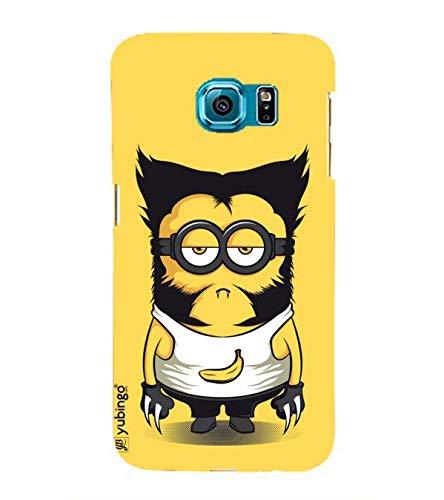 YuBingo Cool Cartoon Designer Printed Hard Plastic Mobile Case Back Cover for Samsung Galaxy S6 Edge