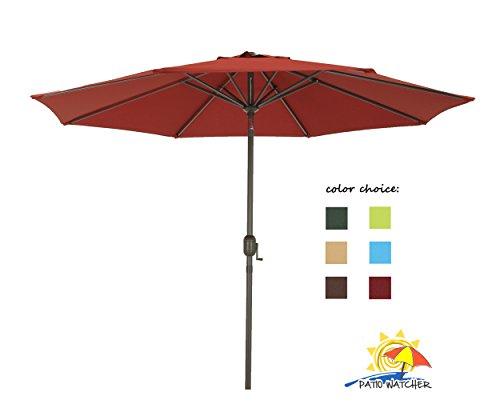 Patio Watcher Aluminum Umbrella GSM Fabric
