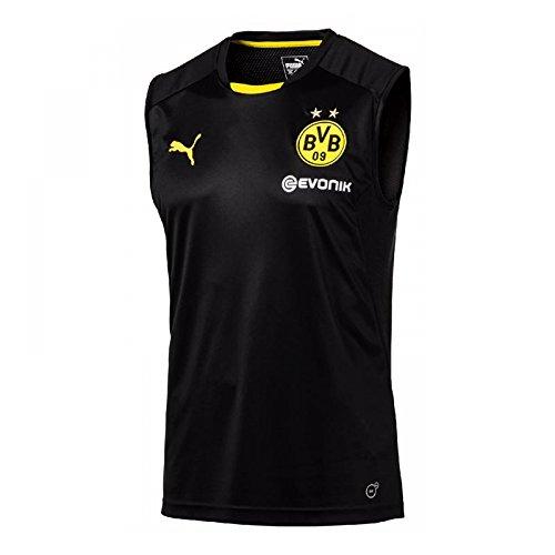 2017-2018 Borussia Dortmund Puma Sleeveless Shirt (Black) – DiZiSports Store