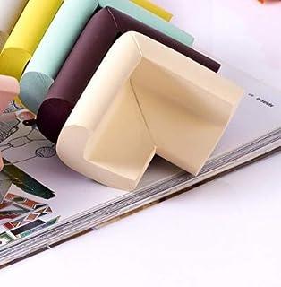 Design61 Universal Eckenschutz Schutzecken Sicherheits Schutz Ecken Kantenschutz Sicherungspuffer Schutzkappen Schaumstoff Tischkantenschutz Sto/ßschutz selbstklebend 2m L-Form in Beige
