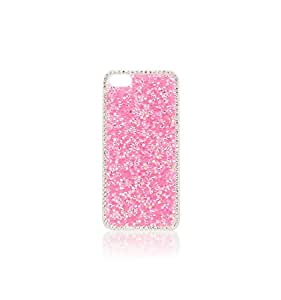 Fancy Pink Coloured Diamonds Phone 5s &5 Case Free Shipping (Pink)