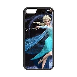 iphone6 plus 5.5 inch Black phone case Frozen Disney Cartoon Elsa and Anna Best Xmas Gift for Girlfriend UGD8023612