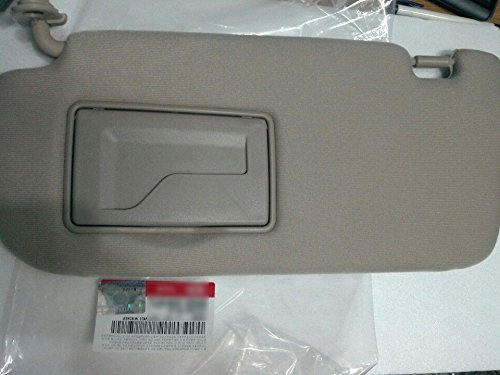 Kia Motors OEM Genuine 852012G010J7 Factory Front Driver Left Inside Sun Visor 1-pc Beige For 07 08 09 10 Kia Optima : Magentis