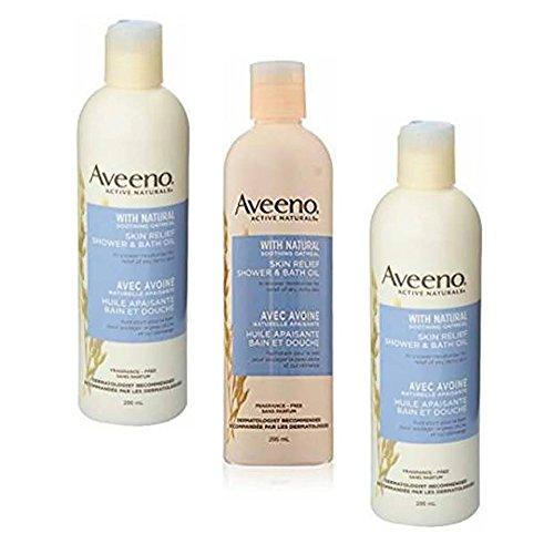 Aveeno Skin Relief Shower & Bath Oil - 10 oz - 3 pk by Aveeno