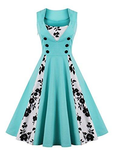 50s swing dress plus size - 9