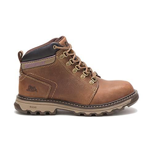 Caterpillar Women's Ellie/Dark Beige Work Boot, 6 W US