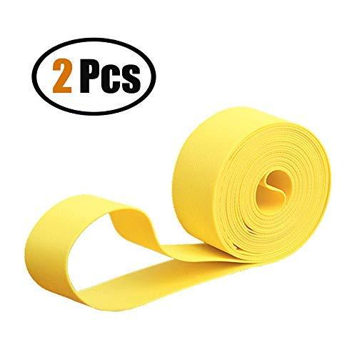 PAIR 2x Zefal Cotton Rim Tape 17mm Width Adhesive Cloth