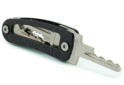 CARBOCAGE KEYCAGE - The Smart Carbon Key Organizer - Made in Germany