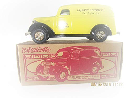 Ertl 1938 Chevy Panel Delivery Bank - Jim Beam Bottle Club District 1 Model F324