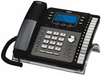 Rca 4-Line Exp Speakerphone W/ Itad - Product Description - - Rca 4-Line Corded Telephone With Digital Answering System- Expandable To 16 Basestations- Compatible With The Rca-25424Re1 Andrca-25425Re1, And Also ()