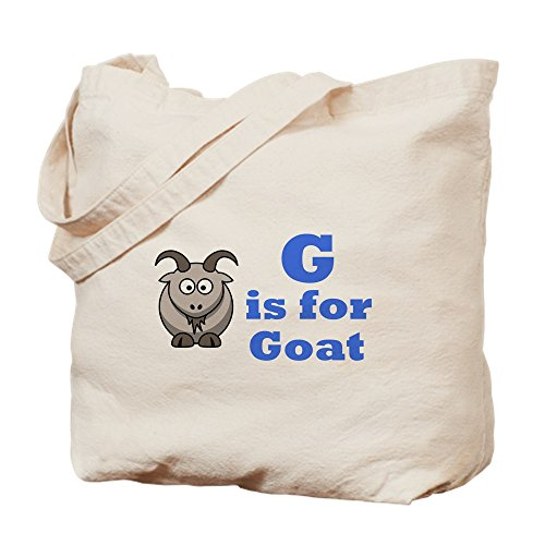 For Blue Is Cloth Goat Bag G Bag Shopping Natural Canvas Tote CafePress qHwITExx