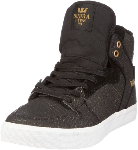 Supra Vaider Trainers Mens Schwarz (Black/Gold Gunny Tuf) pay with paypal cheap online buy cheap with mastercard free shipping how much big discount cheap online BlmJCe7mlt