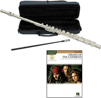 Piratas del Caribe flauta flauta de unidades – incluye W/funda y ...