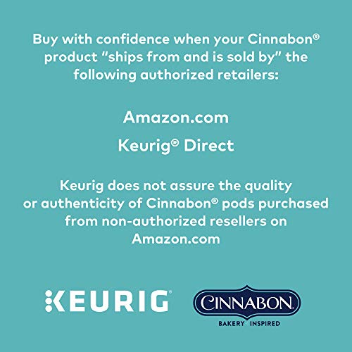 Large Product Image of Cinnabon Classic Cinnamon Roll Coffee Keurig Single-Serve K-Cup Pods, 72 Count (6 Boxes of 12 Pods)