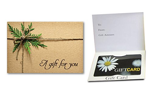 A Gift For You - (Twine Bow) Gift Card Holder (100 pack) Gift Card Supply Store