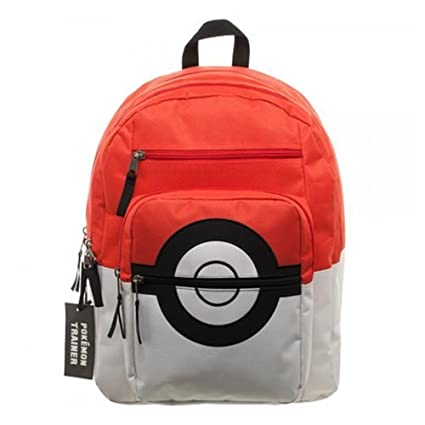 Image Unavailable. Image not available for. Color  Pokemon Pokeball Backpack 4e6870951802c