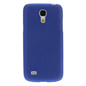 JOE Matte Skin Pattern Plastic Hard Back Case Cover for Samsung Galaxy S4 Mini I9190 , Dark Blue