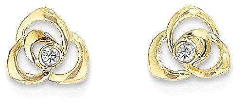 Designer Solitaire Earrings - 9
