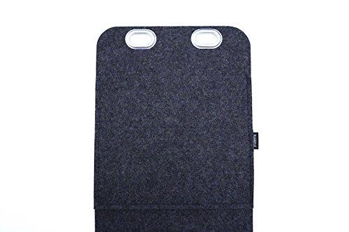 Auto-Organizer Utensilien-Tasche Rücksitz-Tasche Multi-Tasche Organizer Filz Graphite 5mm