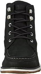 Sperry Dockyard Boot (Little Kid/Big Kid), Black, 6 M US Big Kid