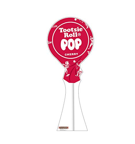 Advanced Graphics Cherry Tootsie Pop Life Size Cardboard Cutout Standup ()