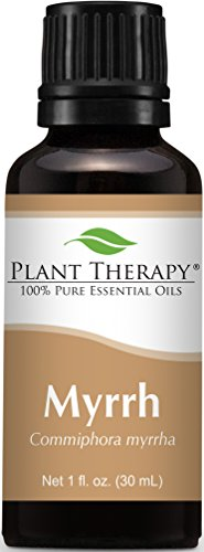 Plant Therapy Myrrh Essential Oil 30 mL (1 oz) 100% Pure, Undiluted, Therapeutic Grade