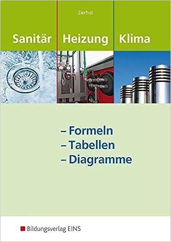 Sanitär-, Heizungs- und Klimatechnik: Formeln - Tabellen - Diagramme ...