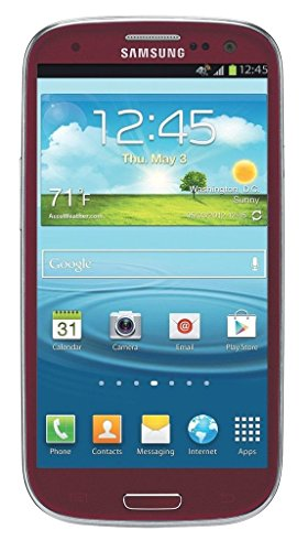 Samsung Galaxy S3 I747 16GB Unlocked GSM LTE Android Smartphone - Red (Samsung Galaxy S3 Unlocked Gsm)