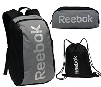 Reebok Black Backpack School Bag  Amazon.co.uk  Sports   Outdoors