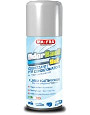 Mafra, Odorbact Out, Spray Purificante per Condizionatori d'Auto, Neutralizza i Cattivi Odori e Rilascia una Piacevole Fragranza al Talco, Facile e Veloce da Utilizzare, Formato 150ml