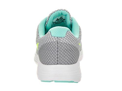 Nike 819303-005, Zapatillas de Trail Running para Mujer Gris (Wolf Grey / Volt-Hyper Turq-White)