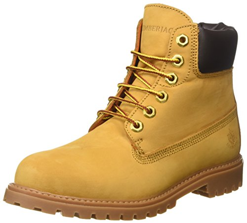 Lumberjack Damen River Desert Boots Giallo (Yellow/Dk Brown)