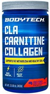 CLA Carnitine Collagen Fruit Punch 15.98 oz. 30 Servings