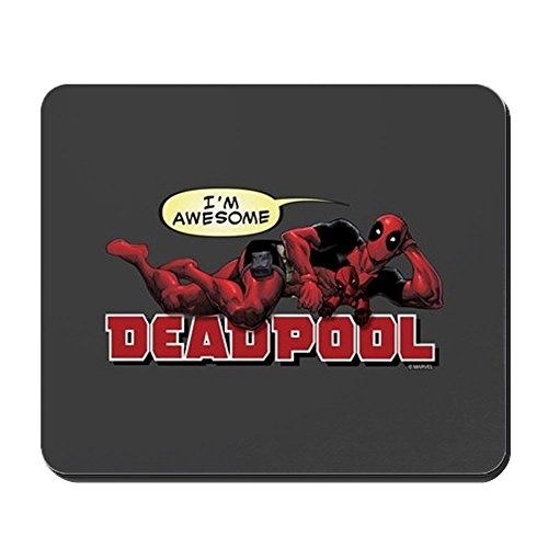 CafePress Deadpool Awesome Non-Slip Rubber Mousepad, Gaming Mouse Pad]()