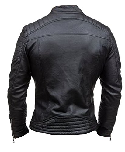 Di In Fashion Alta Da Giacca Vera Classyak Black Pelle Uomo Cow Qualità Rob A1xwRcxqHI