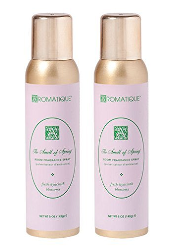 Package of Two (2) Aromatique 5 Oz Room Fragrance Sprays in The Smell of Spring