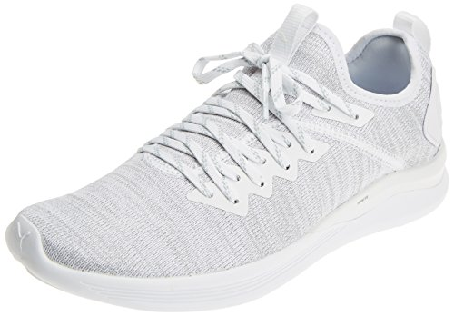 Puma Herren Ignite Flash Evoknit Cross-Trainer Outdoor Fitnessschuhe Weiß (Puma White)