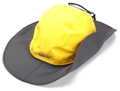 Outdoor Research Seattle Sombrero Rain Hat, 498-Yellow/Dark Grey, Large