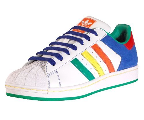 Adidas Men's Superstar 2 CB Casual Shoe White, Multicolour (8)