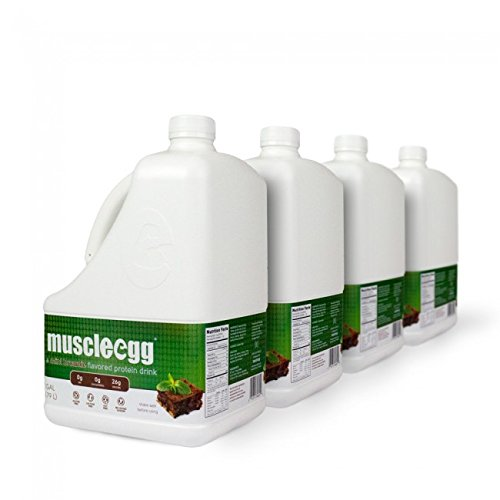 100% MINT BROWNIE Liquid Egg Whites (4 gallons) by MuscleEgg