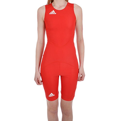 Womens Wrestling Singlet - adidas Performance Womens Powerweb Wrestling Suit - Red - 14