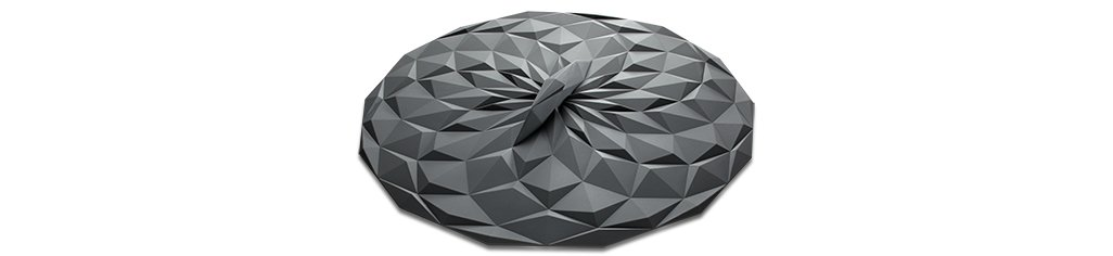 GIR: Get It Right Premium Silicone Round Lid, 8 Inches, Gray by GIR: Get It Right (Image #3)