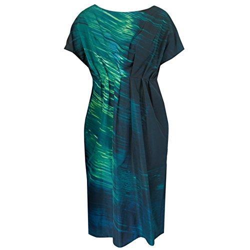 Marni Oil On Metal Abstract Print Dress, Dark Sea Green, US 4/IT 40 Marni Women Dresses