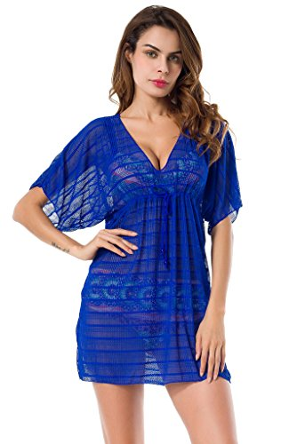 Costyleen Womens Summer See through Protective